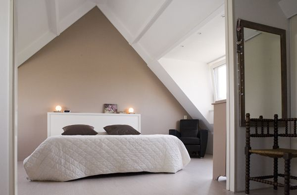 Slaapkamer de zolder