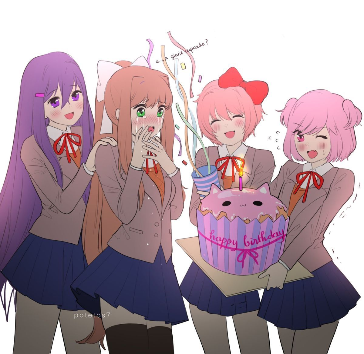 2nd Anniversary ( by potetos7 ) Literature club