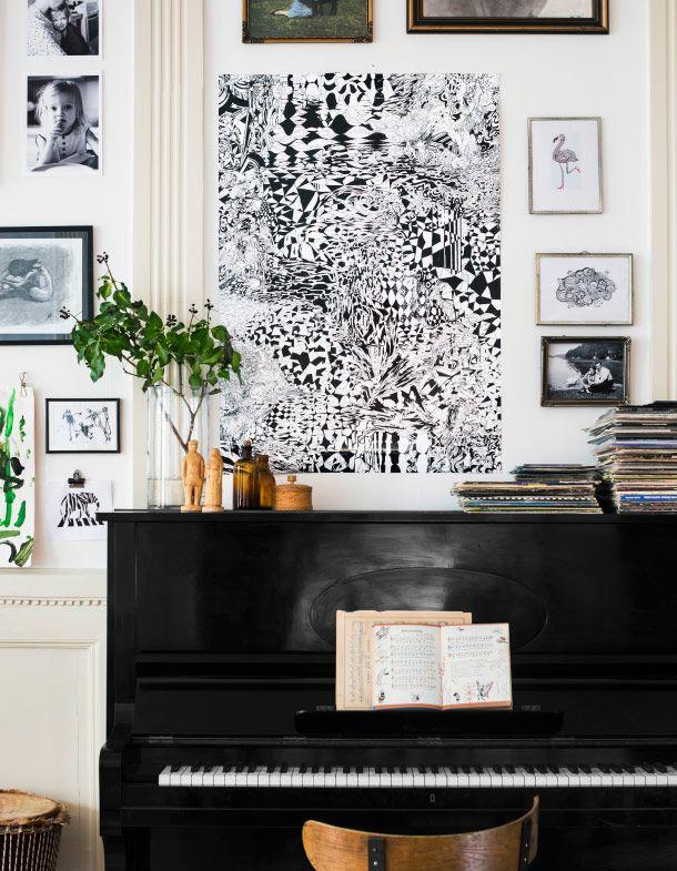 IKEA street art collection - vintage chic interior