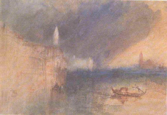 Grand Canal Venice Watercolor Om Paper By Joseph Mallord