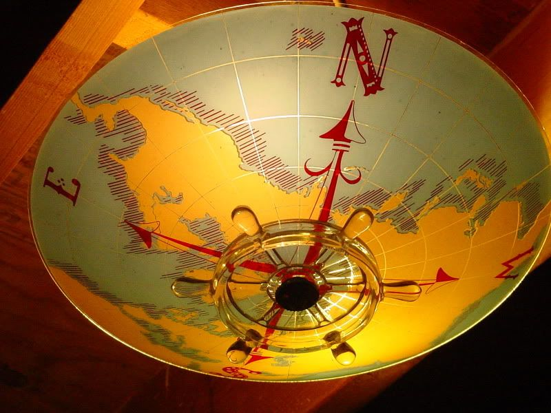 Nautical Theme Lighting Fixtures Vintage Nautical Compass