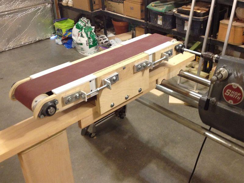 Building A Swing Arm Belt Sander Инструмент