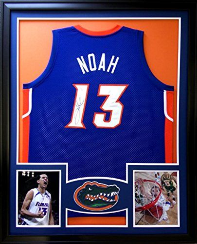 ... New York Knicks 13 NBA Youth Climalite Player T-Shirt Joakim Noah  Framed Jersey Signed JSA COA Autographed Florida Gators Chicago Bulls  Mister Mancave ... 2f43282b9