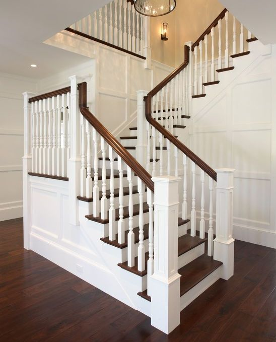 Staircase Spindles, Traditional Staircase