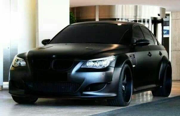 Bmw E60 M5 Matte Black Bmw E60 Bmw Cars Bmw