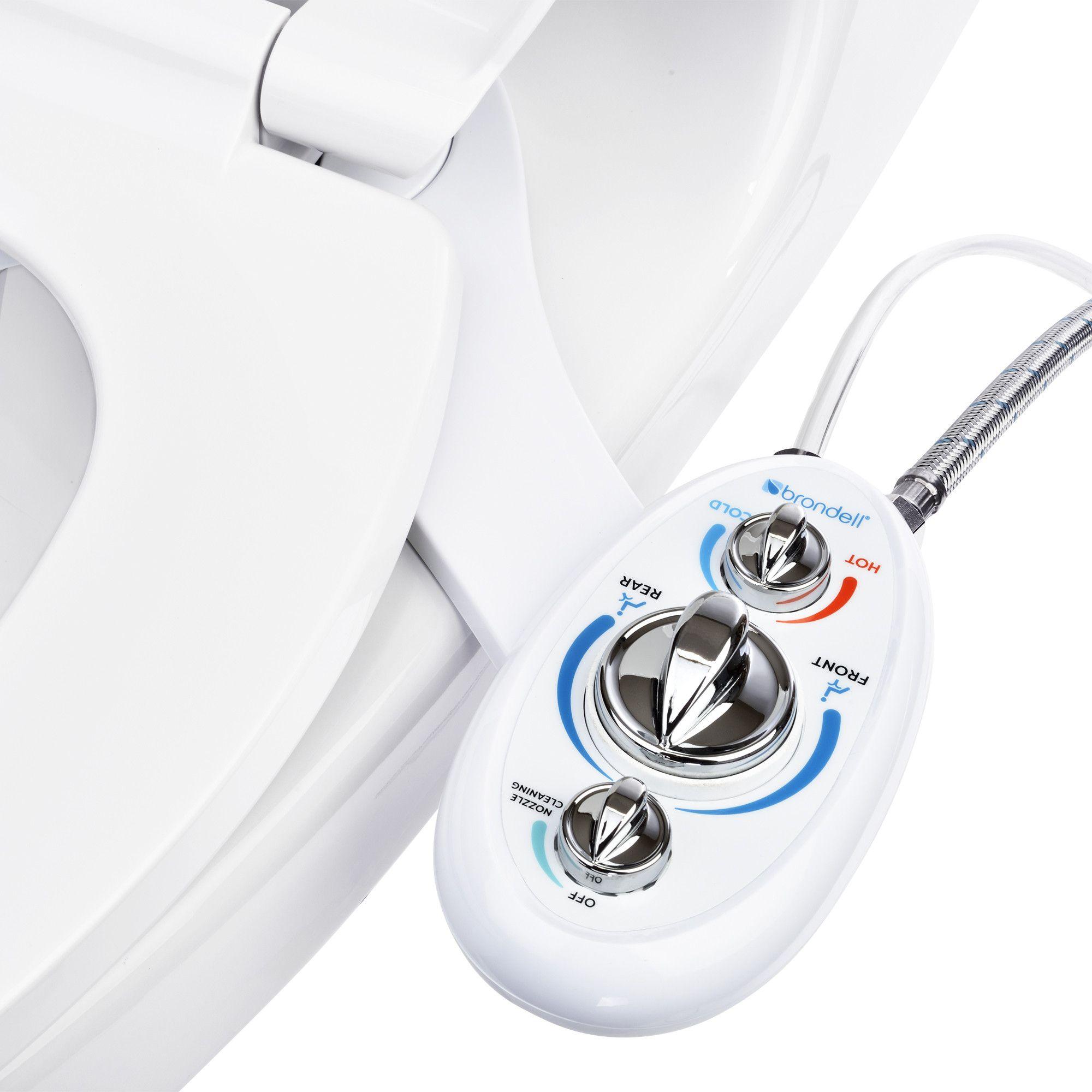 SouthSpa LeftHanded DualTemp, DualNozzle Bidet Toilet