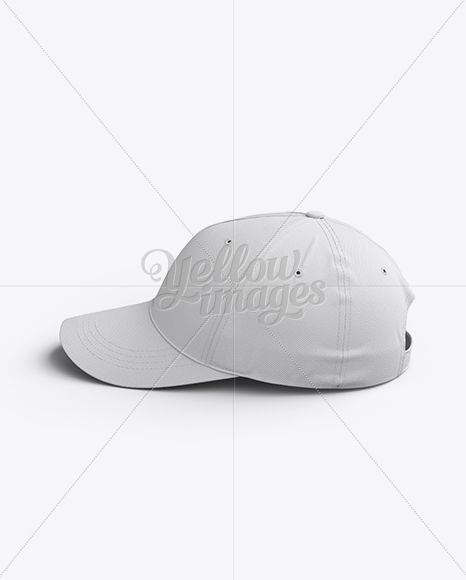 Download Baseball Cap Mockup Side View In Apparel Mockups On Yellow Images Object Mockups Clothing Mockup Mockup Free Psd Psd Template Free