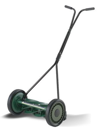 7 Blade Bent Gr Reel Mower Made In Usa By American Lawn Co