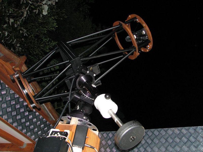 Amateur telescope last ten years