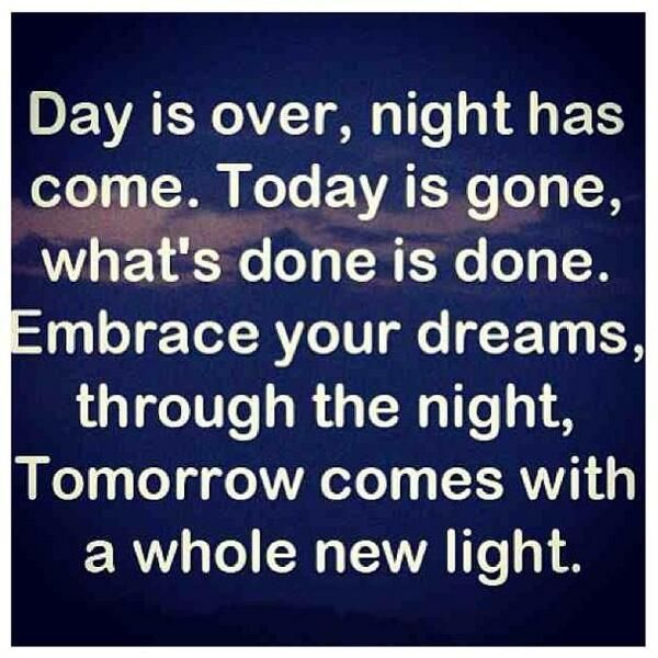 52 Inspirational Goodnight Quotes With Beautiful Images Come On