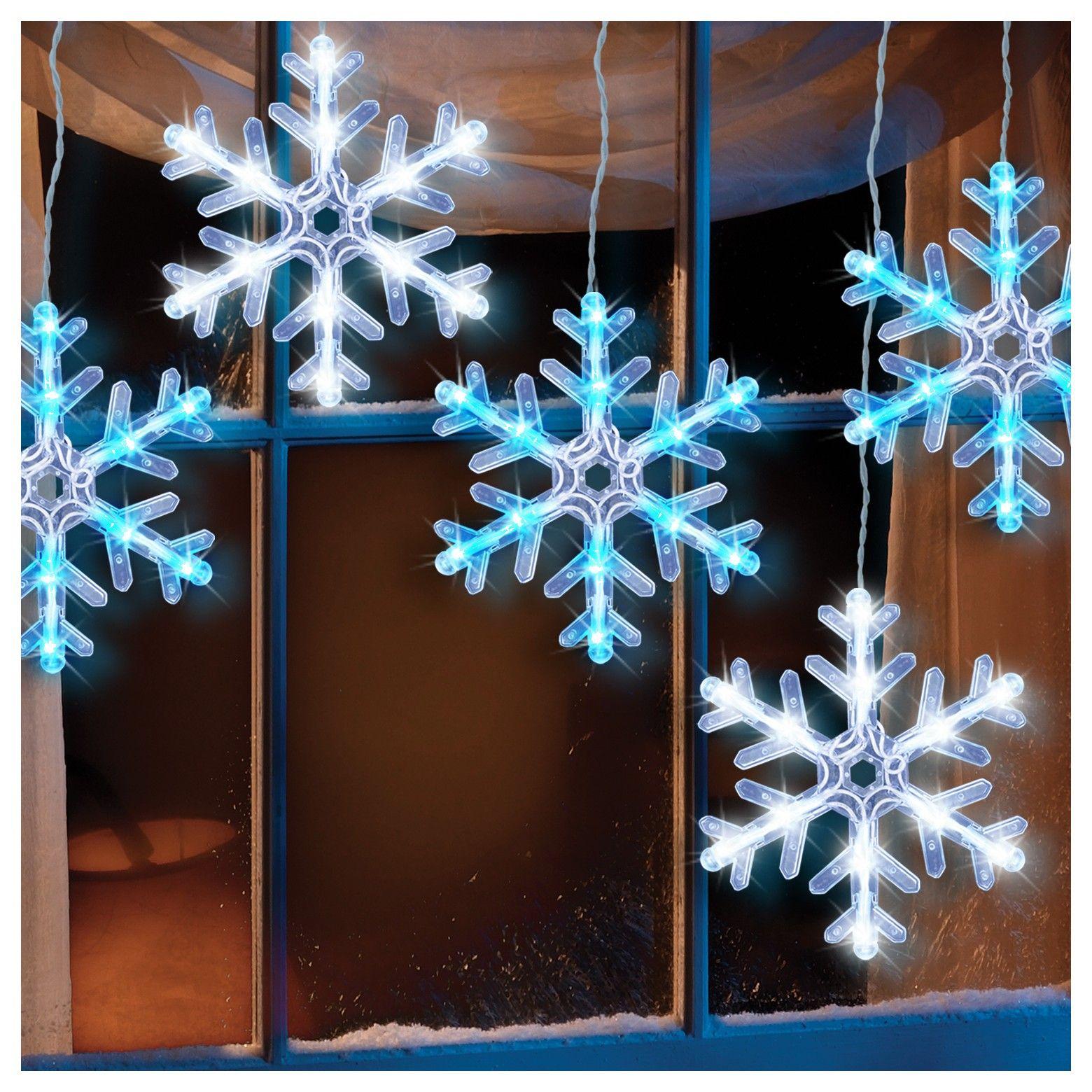 Snowflake Icicle Lights Target Bruin Blog