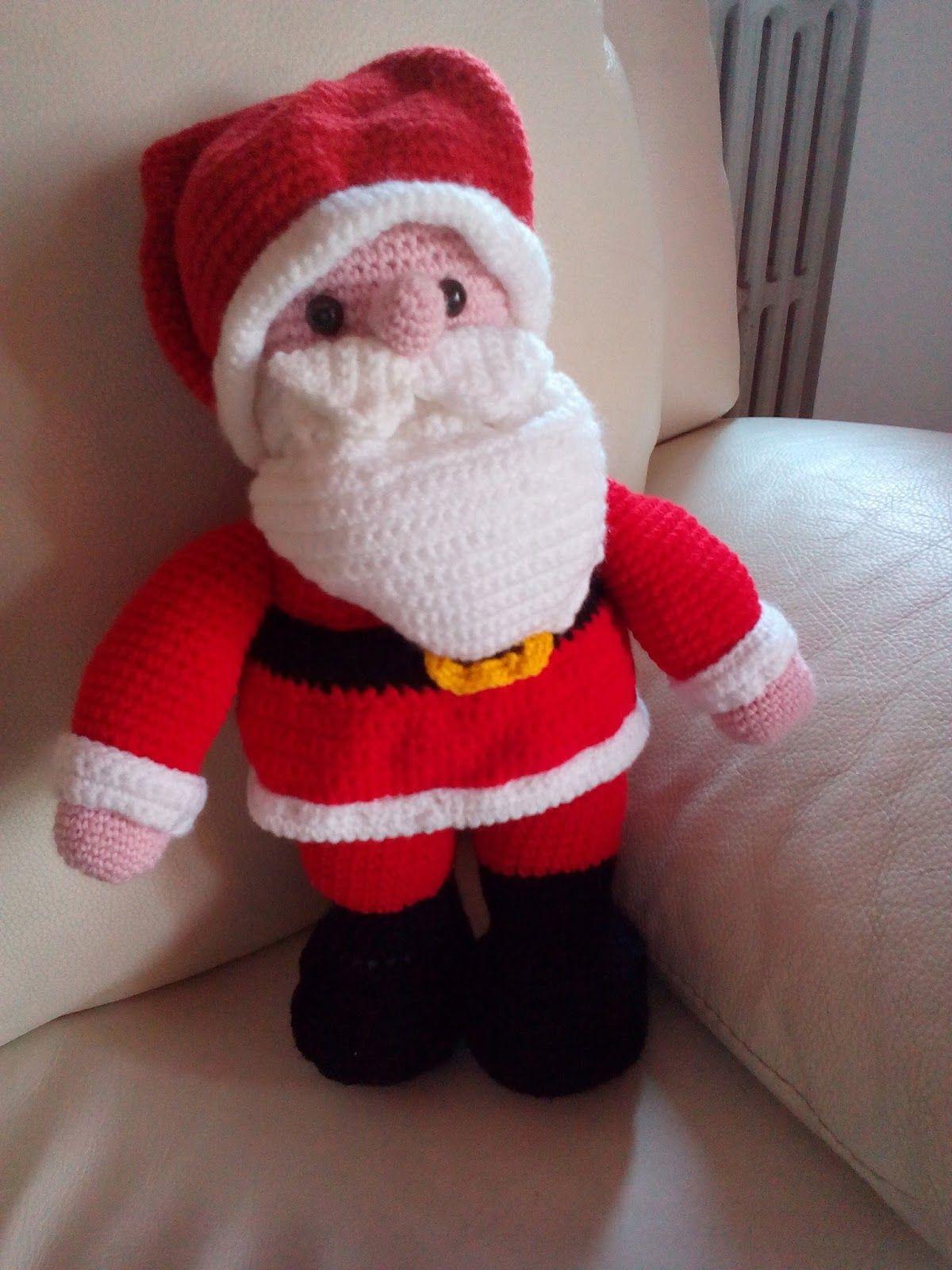 Babbo Natale In Spagnolo.Ho Trovato Questo Simpatico Babbo Natale Su Pinterest Che Mi