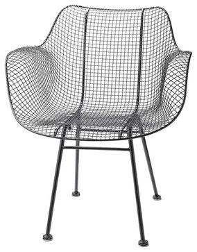 Wire Chair   Modern   Outdoor Chairs   Rejuvenation $299 On Houzz