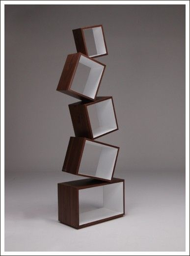 EQUILIBRIUM | UNUSUAL BOOKCASE | CONTEMPORARY BOOKSHELVES | MALAGANA DESIGN | Contemporary Art. Design Gifts. Ideas. | Everything Begins