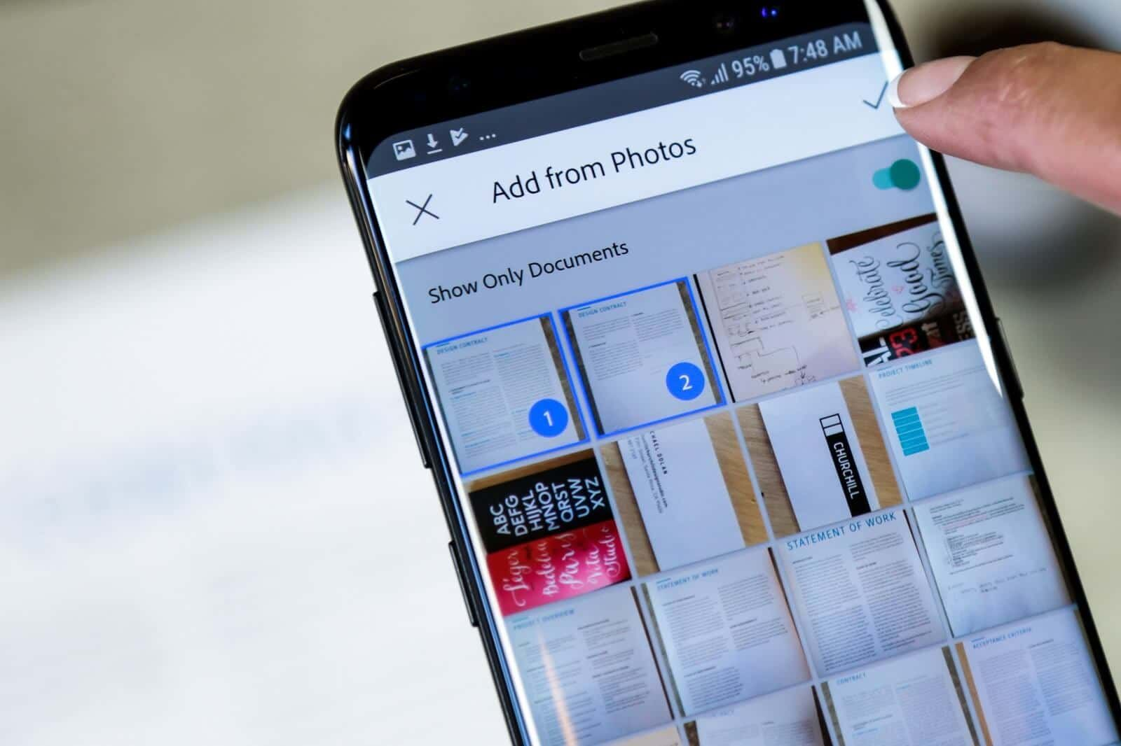 Adobe Scan Android App Gets Document Discovery More Features Google News