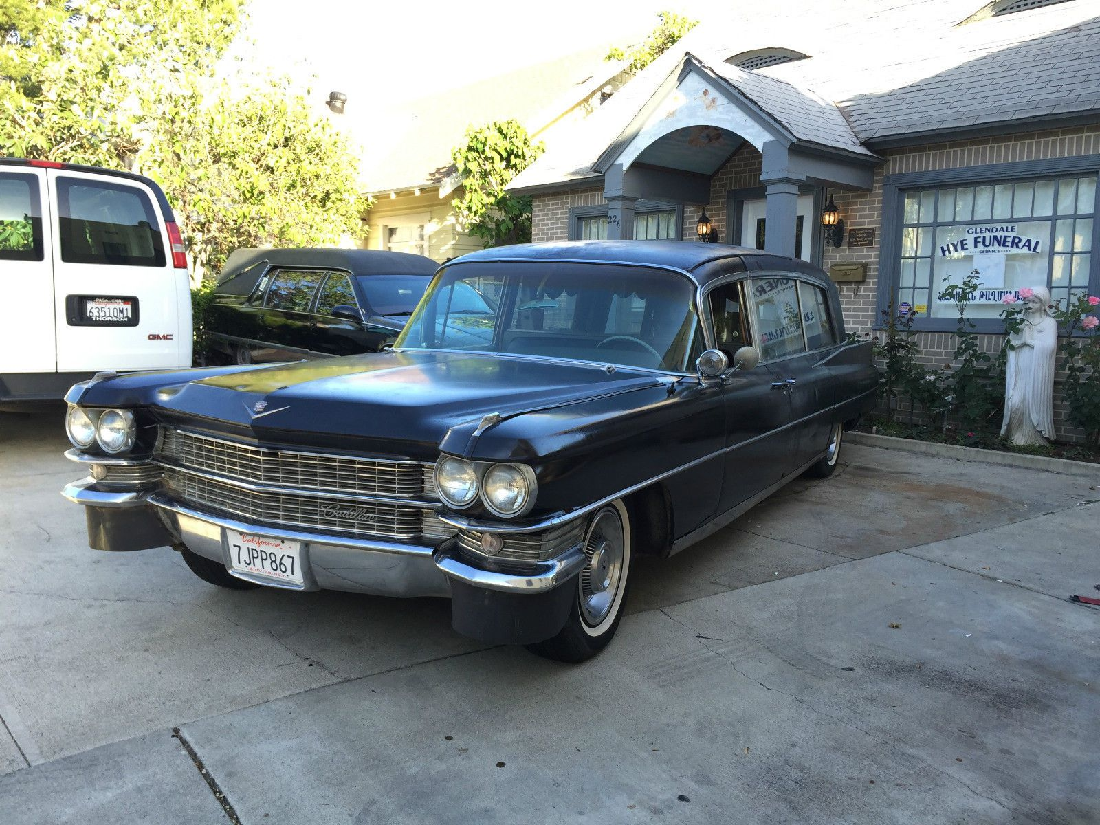 1963 cadillac hearse for sale