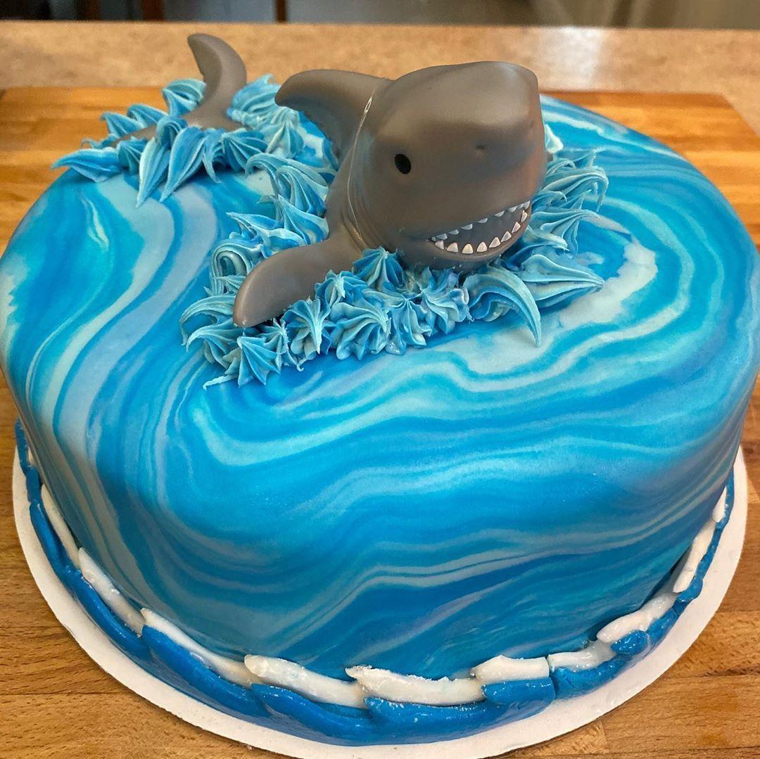 If only it was shark week. . . . . . . .  #cake #cakes #cakedecorating #nofilter #food #foodie #foodporn #foodgasm #instacake #instagood #dessert #dessertporn #cakesofinstagram #chocolate #fudge #bakersofinstagram #godiva #chocolategamache #buttercream #darkchocolate #cakeporn #vanillabean #shotoniphone #butter #baker #cheflife #sofla #wilton #palmbeach #bakedcakeshop #sharkweekfood If only it was shark week. . . . . . . .  #cake #cakes #cakedecorating #nofilter #food #foodie #foodporn #foodgasm #sharkweekfood