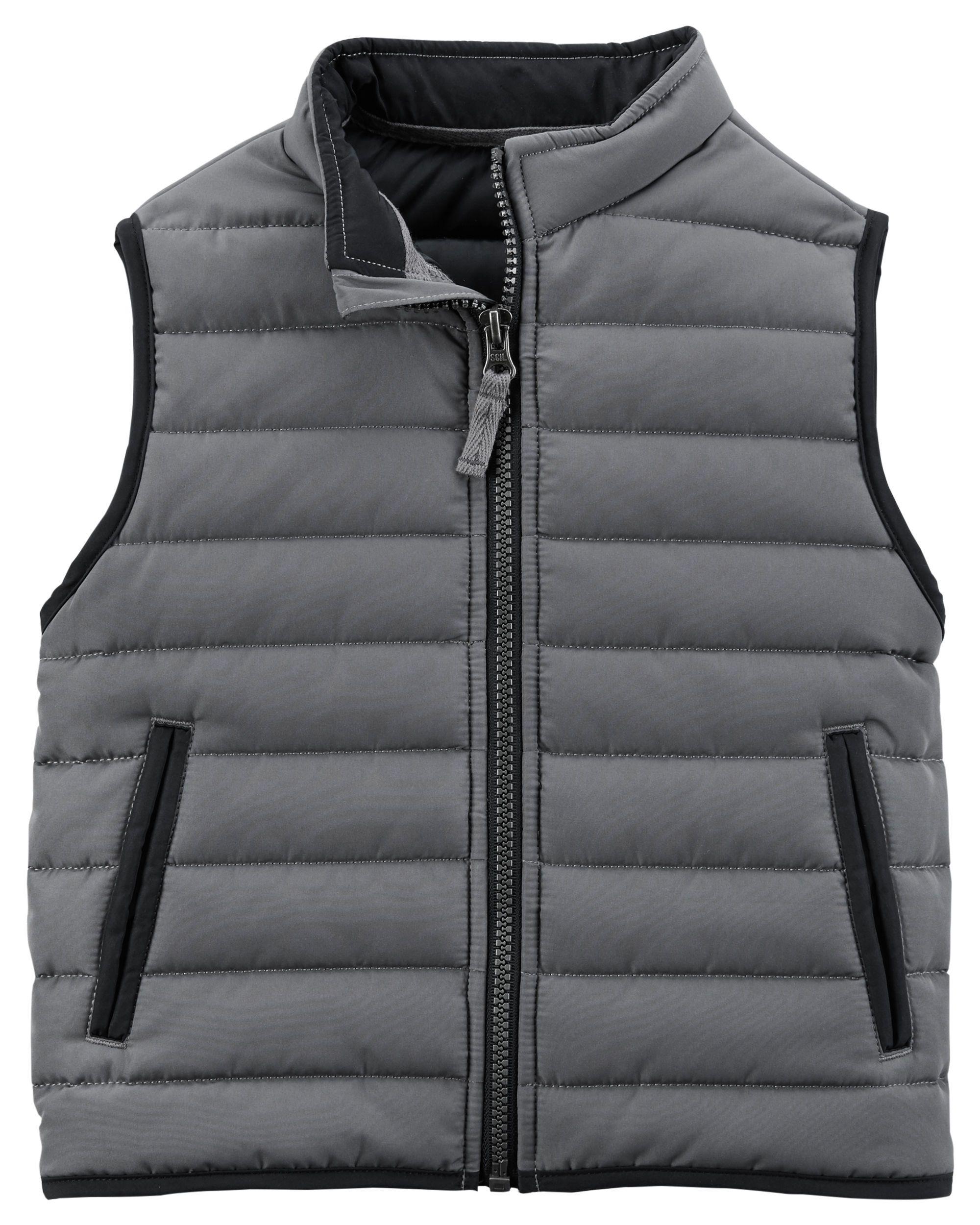 99eccee74 Zip-Up Puffer Vest