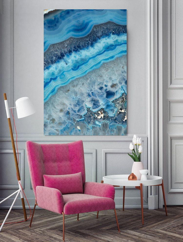 mineral photography print 062 blue agate fine art print two paper choices mineral geode agate crystal decor is part of Painting bathroom - Mineral Photography  (Print  062) Blue Agate  Fine Art Print  Two Paper Choices Mineral Geode Agate Crystal Decor Blueart Photography