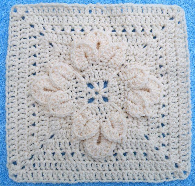Ravelry: Maryfairy\'s Fuschia for Cream Afghan II   Crochet afghans ...