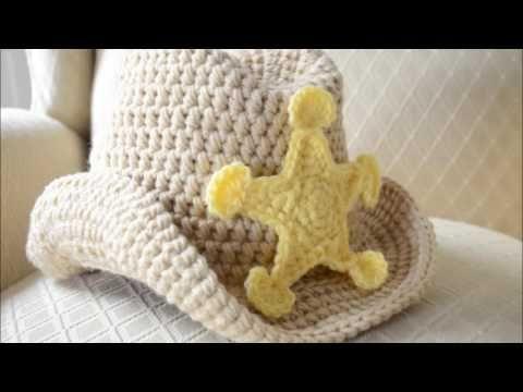 b35de83231c67 Gorro vaquero a crochet - YouTube