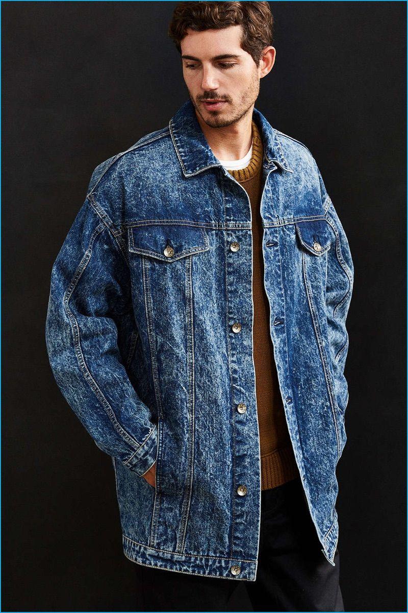 Bleach Philosophy 7 Bleached Fashions From Urban Outfitters Denim Jacket Men Denim Jacket Longline Denim Jacket [ 1200 x 800 Pixel ]