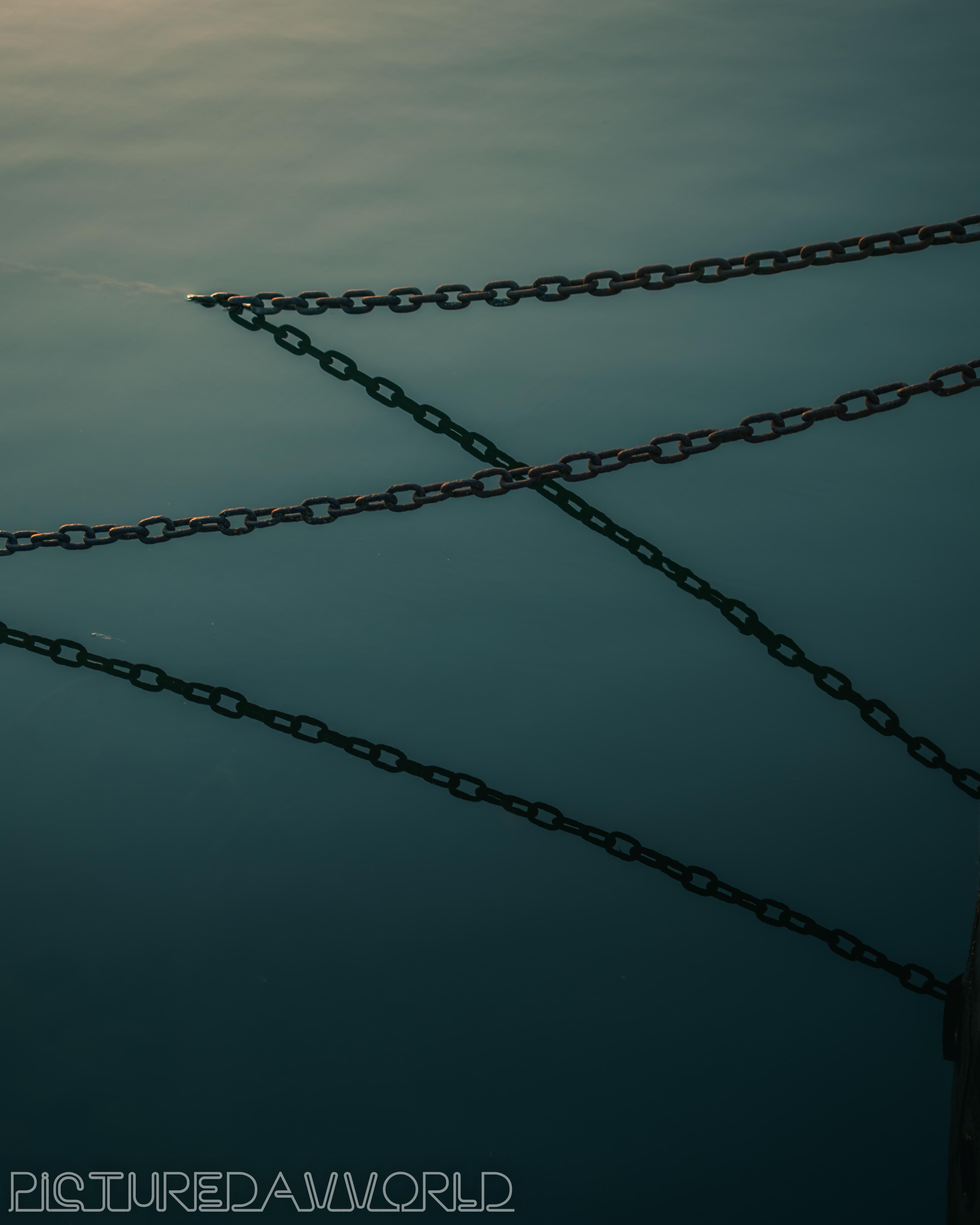 ITAP of dock chains going in the water by ItisIAutismo . . . . #photos #amazingworld #world #amazingphotography #amateurphotography #photography #incrediblephotos