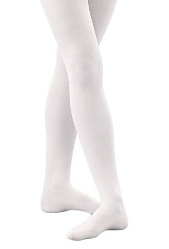 Banner Bonnie Girls' Opaque Microfiber Dance Stockings School Uniform Footed Tights -- Additional details @