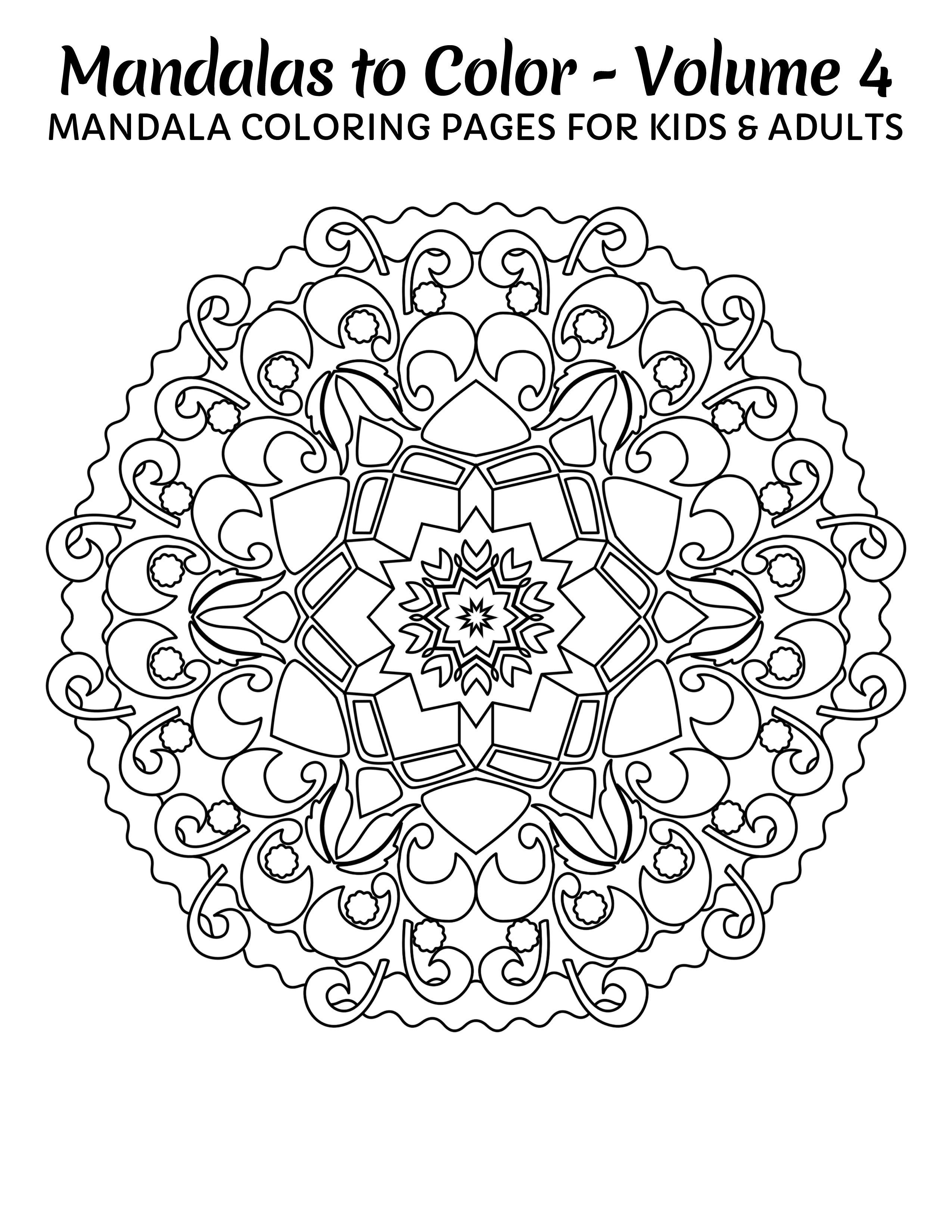 Pin By Kathy Naraghi On Mandalas To Color