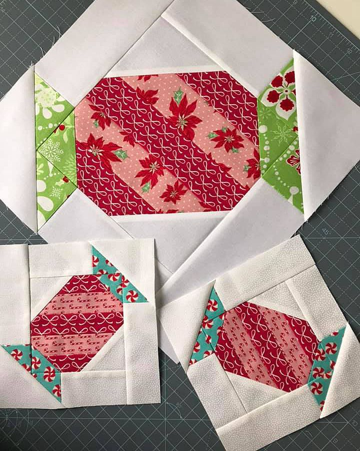 New Christmas Quilt Patterns: Christmas Candy Quilt Pattern - ellis & higgs