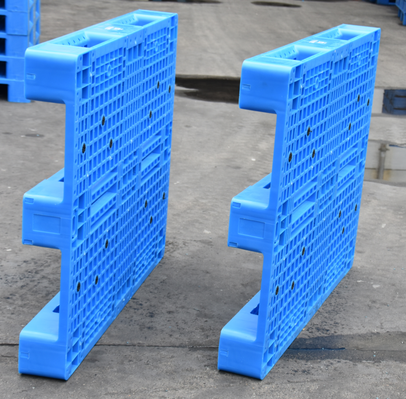 blue color rack use plastic pallet in China   Plastic ...