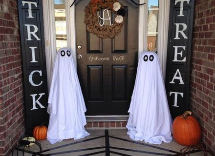 Image result for decorating a witches cauldron Here Comes - halloween garage ideas