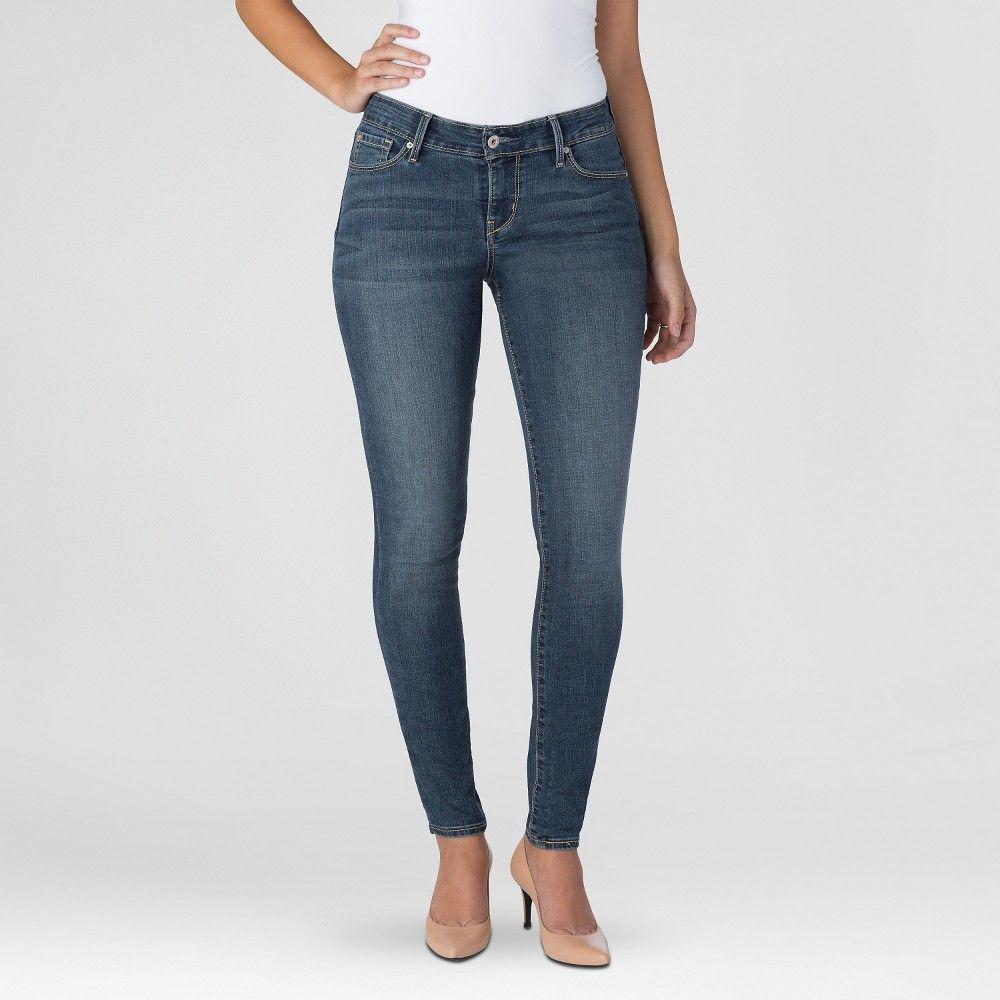 1c1283ecdc187 Denizen from Levi s Women s Modern Skinny Jeans - Bombshell - 18 Short