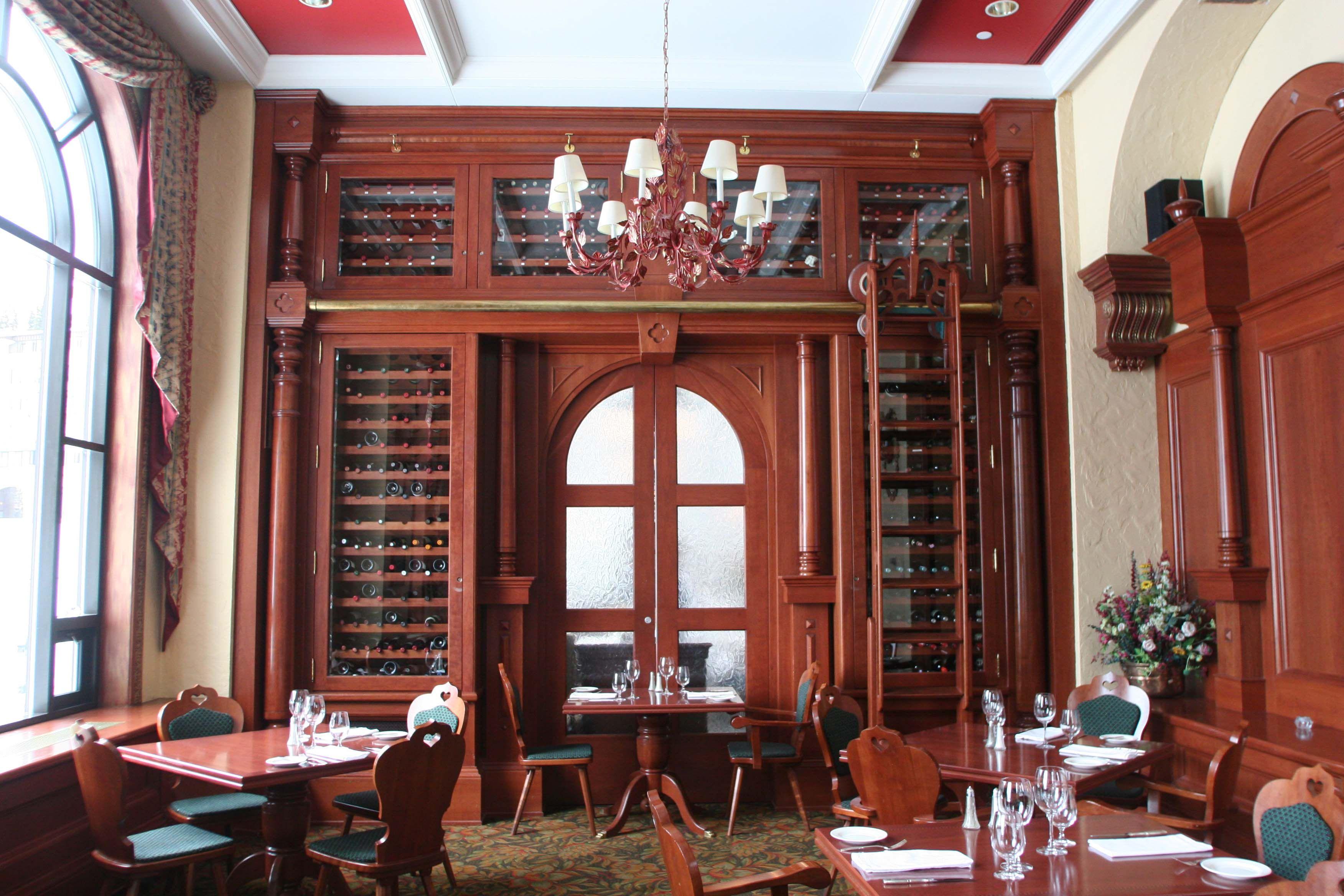 Walliser Stube Fondue Restaurant At The Fairmont Chateau Lake Louise Fairmont Chateau Lake Louise Chateau Lake Louise Fondue Restaurant