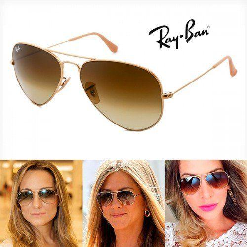 65c1e059f Óculos Ray ban Aviador Todas as Cores & tamanhos Unisex | Oculos Ray ...
