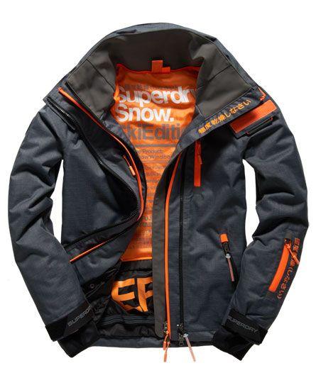 633cf1071c3f Superdry Snow Wind Jacket Grey