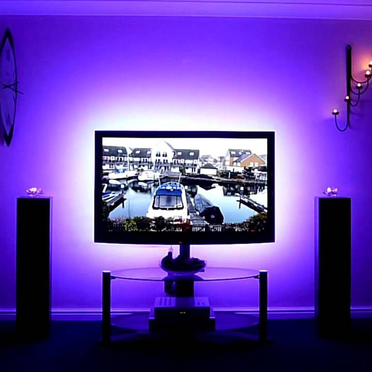 LightGeeks Remote Controlled LED Strips (16 feet/5 Meters