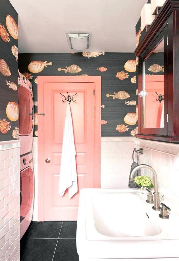 1001 id es originales comment peindre une porte - Comment peindre carrelage salle de bain ...