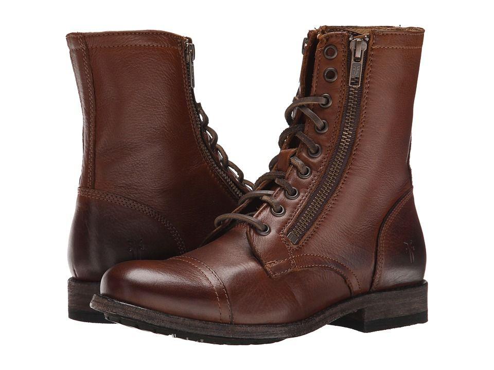 FRYE. Frye BootsWomen's BootsLeather Lace Up BootsLeather BootiesVintage  LeatherDorm RoomDark BrownZipFall