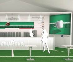 Lavazza Coffee match at Wimbledon