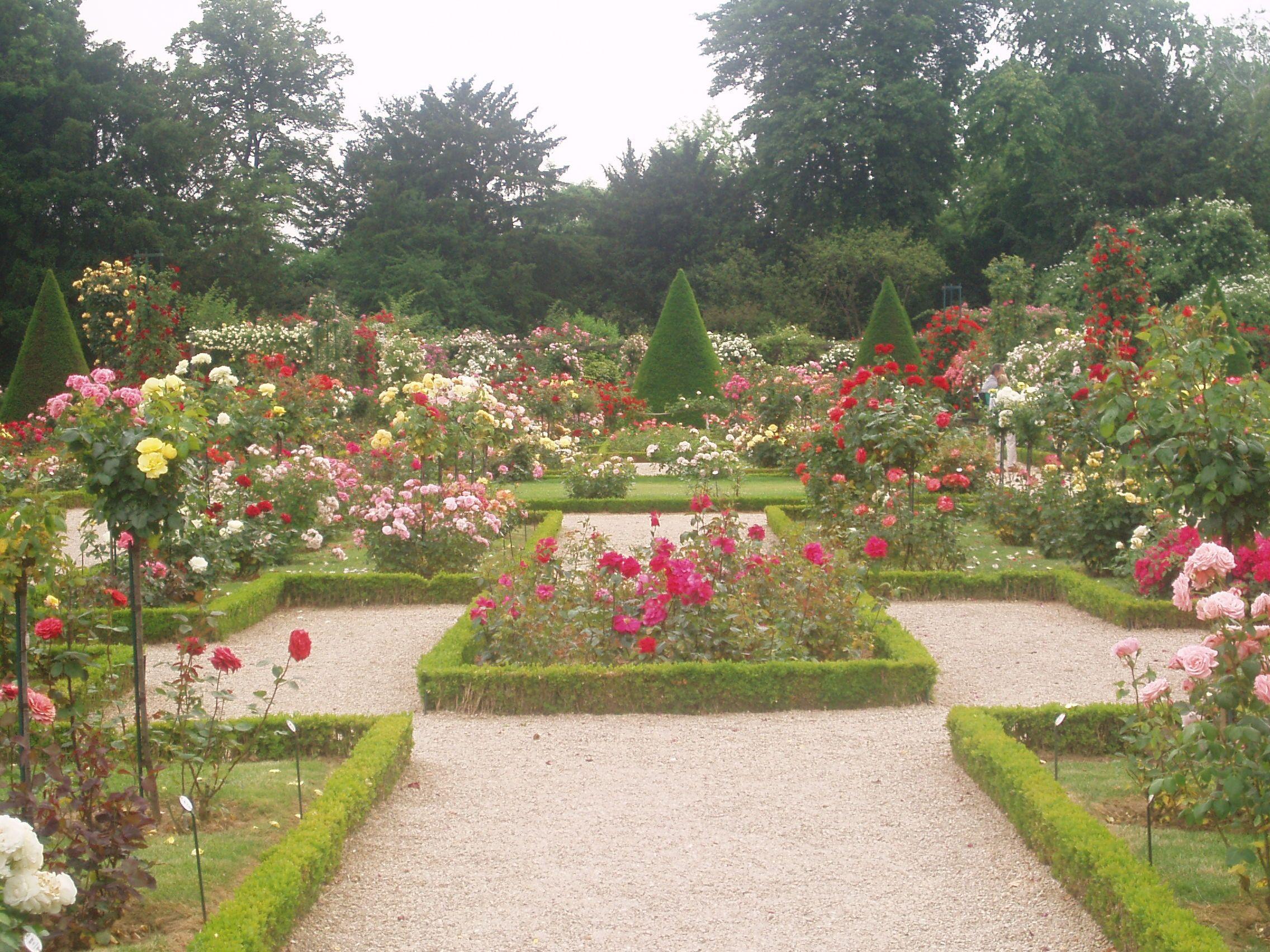 bagatelle jardin des roses bois de boulogne
