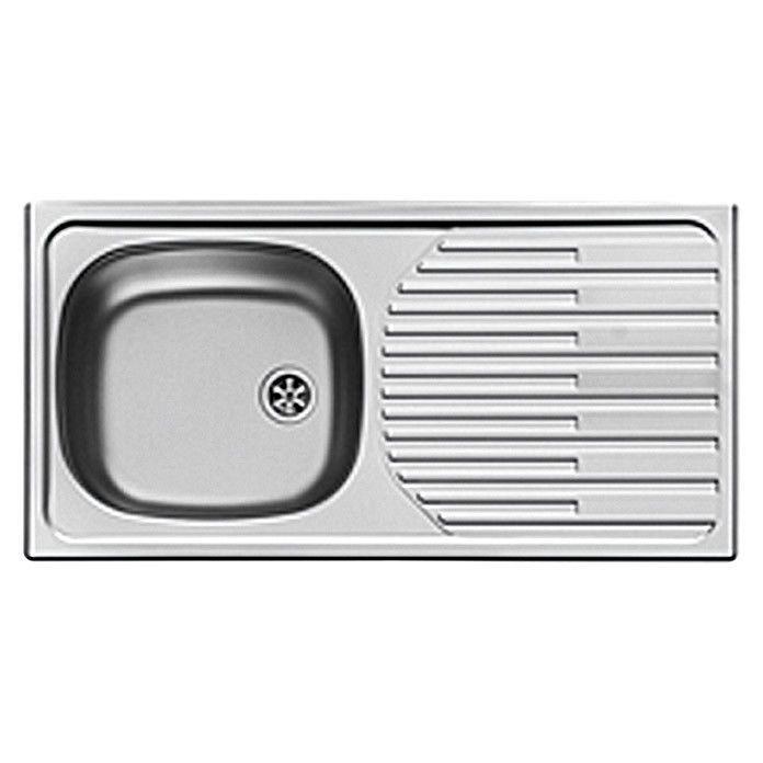 Einbauspüle glatt Küchenspüle Reversibel Spülbecken Spüle ...
