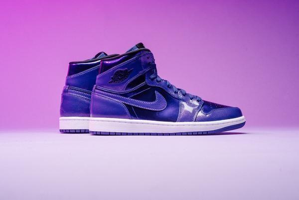 6ff625df04b Air Jordan 1 Retro HI - Deep Royal/Purple | Watch His Feet!!!! | Air ...