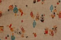 Japanese Linen Cotton Print