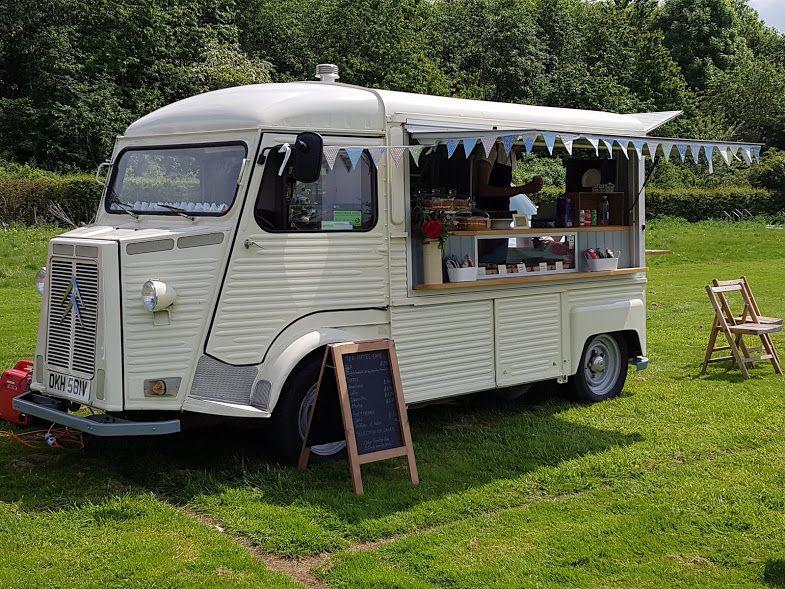 7e5c3253fe17f2 Mobile Bakery Mobile Coffee Van Mobile Coffee and Cake Van Vintage Citroen  H Van Mobile Tea room The Old Manor House Bakery