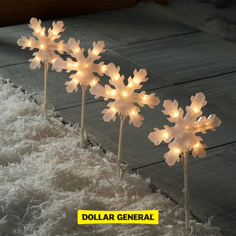 Find festive outdoor decorations at your local Dollar General this - dollar general christmas decorations