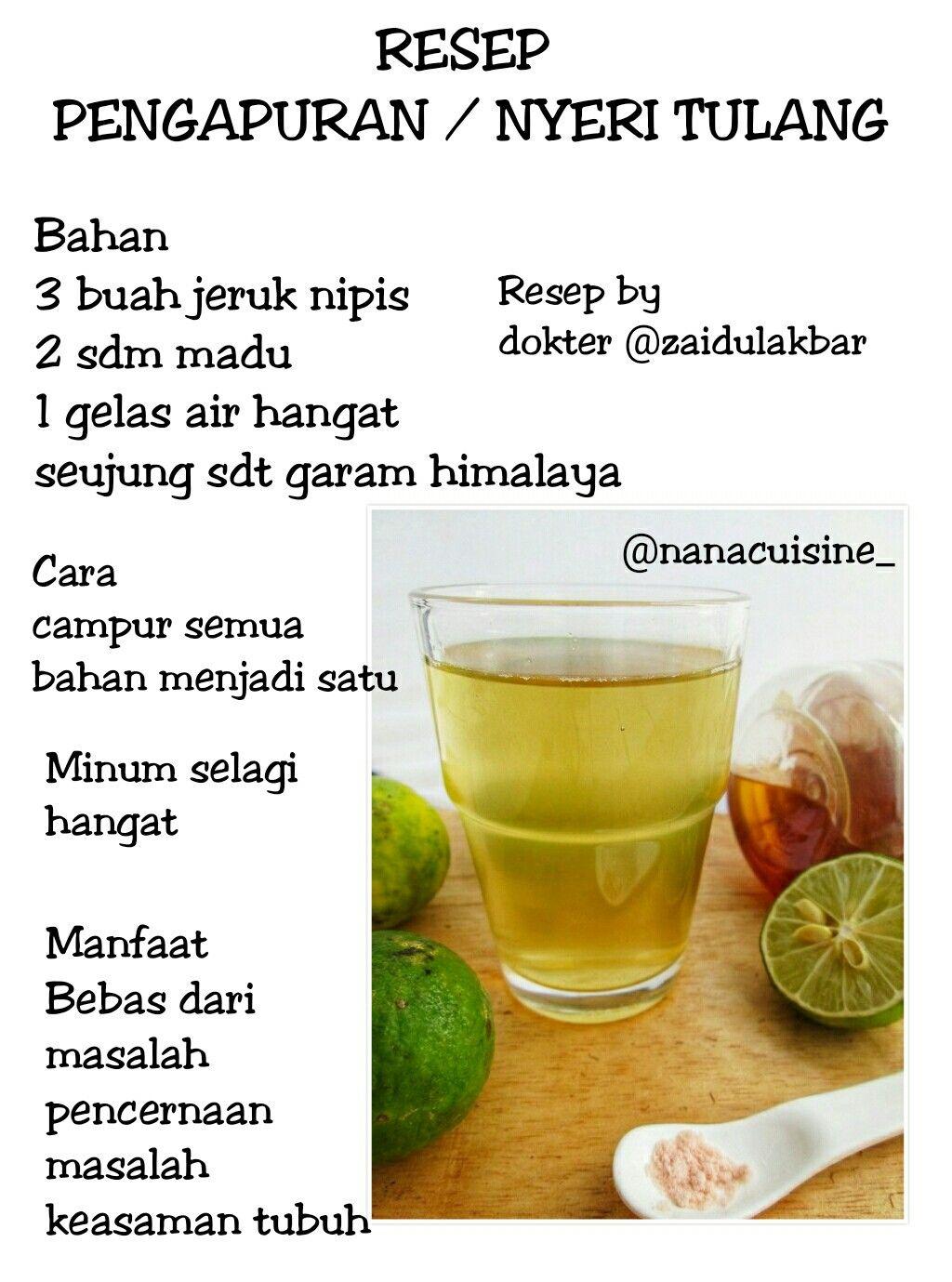 Minuman Herbal Obat Alami Minuman Sehat Minuman Detoks