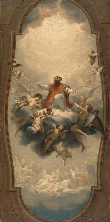 Saint Eusebius Carried To Heaven Anton Raphael Mengs Heaven Painting Manchester Art Classical Art