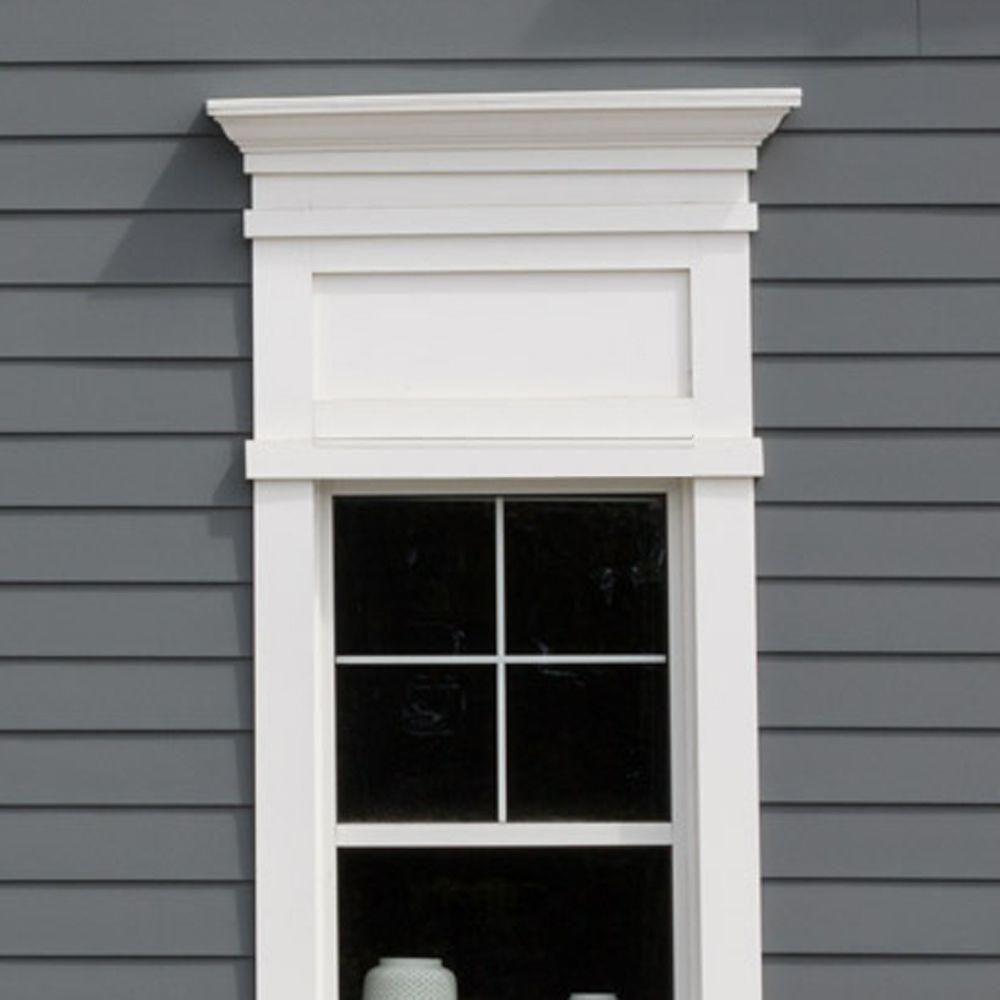 Veranda 3 4 In X 3 1 2 In X 8 Ft White Pvc Trim 6 Pack Interior Window Trim Pvc Trim Interior Windows