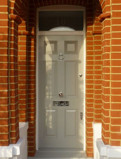 Grey regency front door. A classic by the London Door Company ...